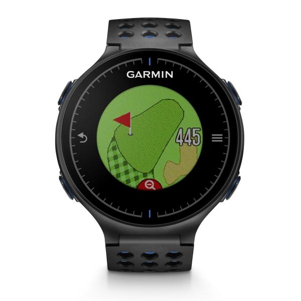 garmin approach s5 gps golf golf uhr schwarz blau 339. Black Bedroom Furniture Sets. Home Design Ideas