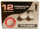 12 Lakeballs AAA-Grade Titleist mixed for HCP 20-54